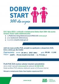 Plakat 300 plus Dobry Start spotkanie PUE.jpg